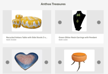 Anthos Treasure Online Store
