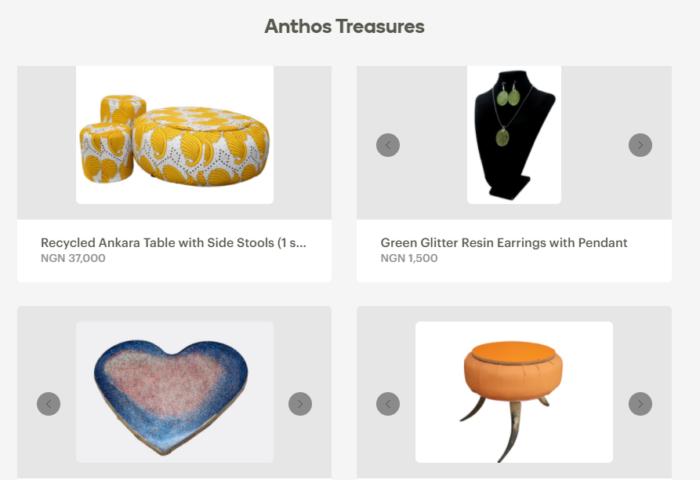 Anthos Treasure Online Store